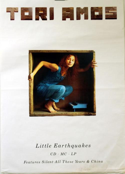 Tori Amos Little Earthquakes poster UK TORPOLI617967