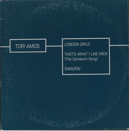 "Tori Amos London Girls CD single (CD5 / 5"") French TORC5LO60702"