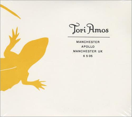 Tori Amos Manchester Apollo, Manchester, UK 6/5/05 2 CD album set (Double CD) UK TOR2CMA403762