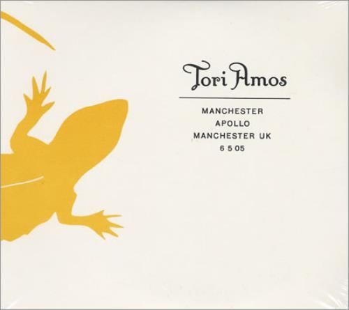 Tori Amos Manchester Apollo, Manchester, UK 6/5/05 2 CD album set (Double CD) UK TOR2CMA403762