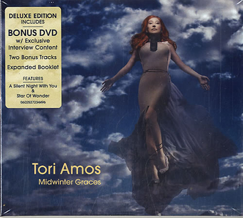 Tori Amos Midwinter Graces - Sealed 2-disc CD/DVD set UK TOR2DMI489573