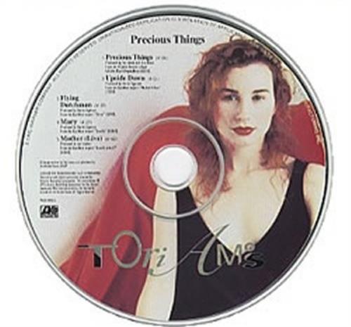 "Tori Amos Precious Things CD single (CD5 / 5"") US TORC5PR10198"