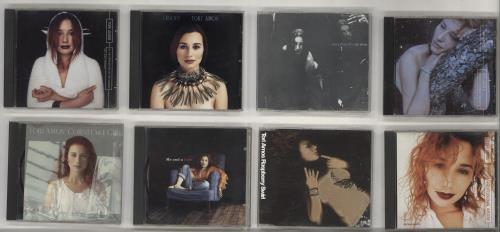 "Tori Amos Quantity of Eight CD Singles CD single (CD5 / 5"") UK TORC5QU703274"