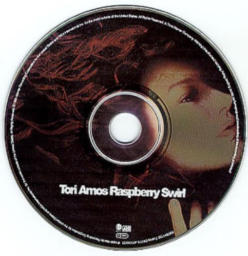 "Tori Amos Raspberry Swirl - Withdrawn CD single (CD5 / 5"") UK TORC5RA119496"