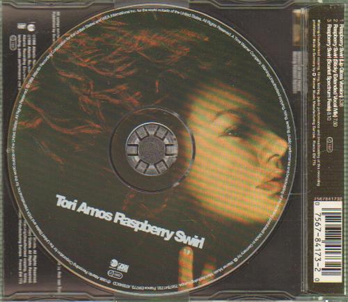 "Tori Amos Raspberry Swirl CD single (CD5 / 5"") German TORC5RA121615"
