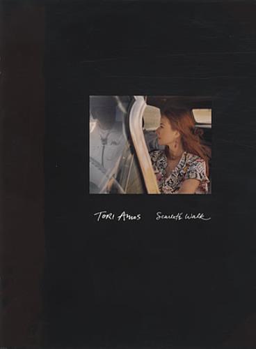 Tori Amos Scarlet's Walk tour programme UK TORTRSC338065