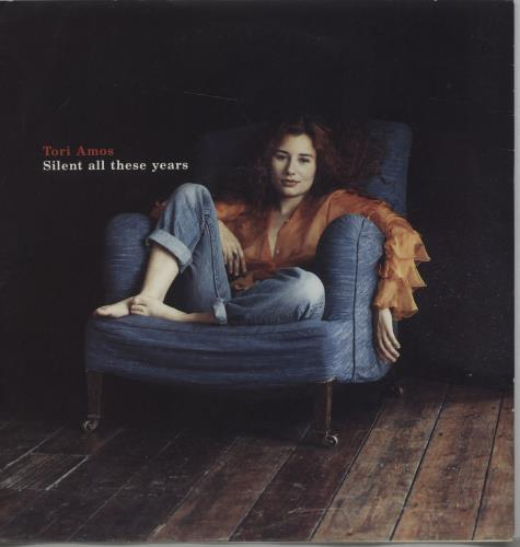 """Tori Amos Silent All These Years - 2nd 7"""" vinyl single (7 inch record) UK TOR07SI17901"""