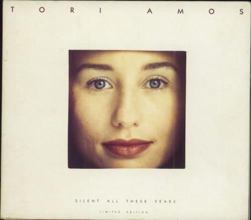 """Tori Amos Silent All These Years - EX CD single (CD5 / 5"""") UK TORC5SI250087"""