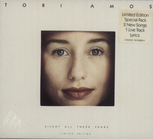 """Tori Amos Silent All These Years - Sealed CD single (CD5 / 5"""") UK TORC5SI128859"""
