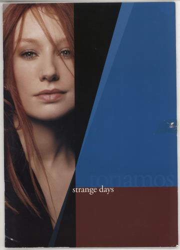 Tori Amos Strange Days - EX tour programme UK TORTRST726715