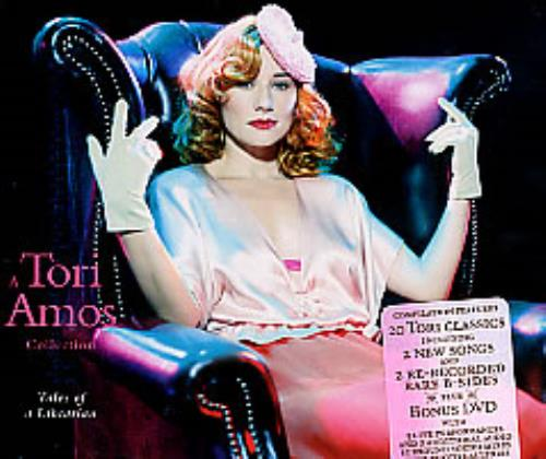 Tori Amos Tales Of A Librarian 2-disc CD/DVD set US TOR2DTA267554