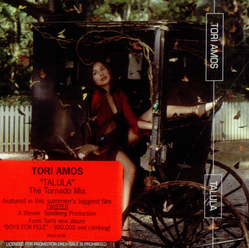 "Tori Amos Talula - Pic Slv CD single (CD5 / 5"") US TORC5TA66537"