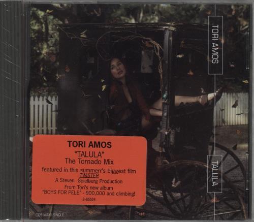 "Tori Amos Talula - Sealed CD single (CD5 / 5"") US TORC5TA714957"