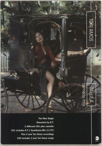 Tori Amos Talula display UK TORDITA62525