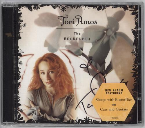 Tori Amos The Beekeeper - Autographed CD album (CDLP) UK TORCDTH322325
