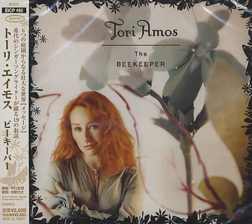 Tori Amos The Beekeeper CD album (CDLP) Japanese TORCDTH392505