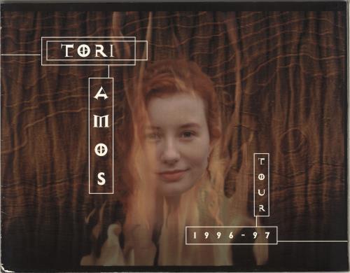 Tori Amos Tour 1996-97 - EX tour programme UK TORTRTO714956