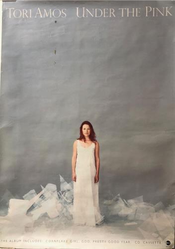 Tori Amos Under The Pink poster UK TORPOUN609349