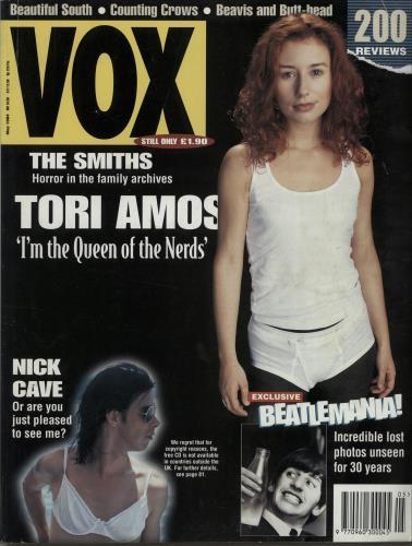 Tori Amos Vox - May 1994 magazine UK TORMAVO643646