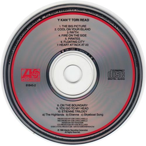 Tori Amos Y Kant Tori Read - Unclipped/Not Cut CD album (CDLP) US TORCDYK118367