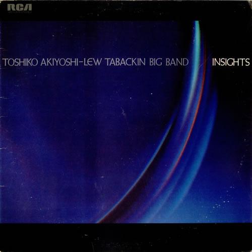 Toshiko Akiyoshi & Lew Tabackin Insights vinyl LP album (LP record) US A+TLPIN532936