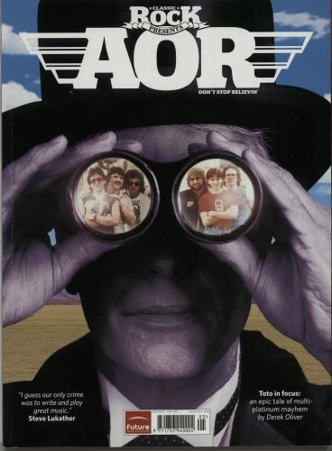 Toto Classic Rock Presents AOR UK magazine (643710) MAY 2011