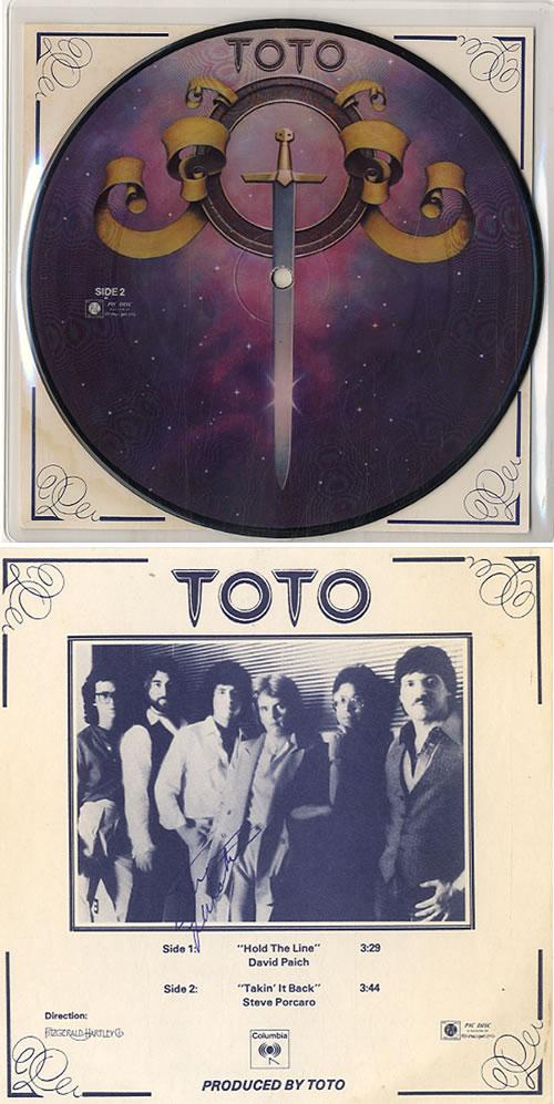 Toto Hold The Line Licorice Pizza Promo Us Promo 7 Vinyl