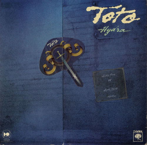 Toto Hydra - EX shaped picture disc (picture disc vinyl record) US TOTSHHY557889