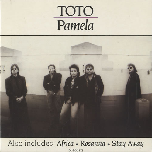 Toto Pamela German Cd Single Cd5 5 Quot 20622