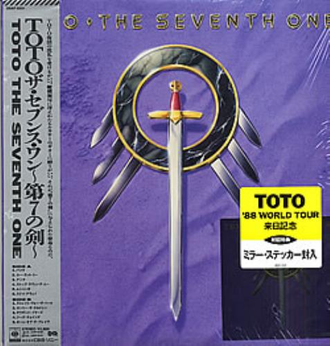 Toto The Seventh One + Sticker Japanese vinyl LP album (LP ...
