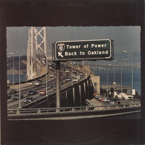 Tower Of Power Back To Oakland vinyl LP album (LP record) UK TO8LPBA599245