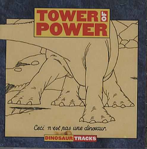 Tower Of Power Dinosaur Tracks CD album (CDLP) US TO8CDDI352043