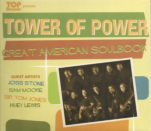 Tower Of Power Great American Soulbook CD album (CDLP) US TO8CDGR487248