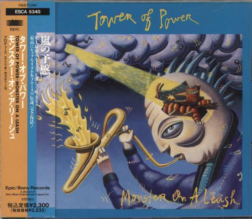 Tower Of Power Monster On A Leash CD album (CDLP) Japanese TO8CDMO718702