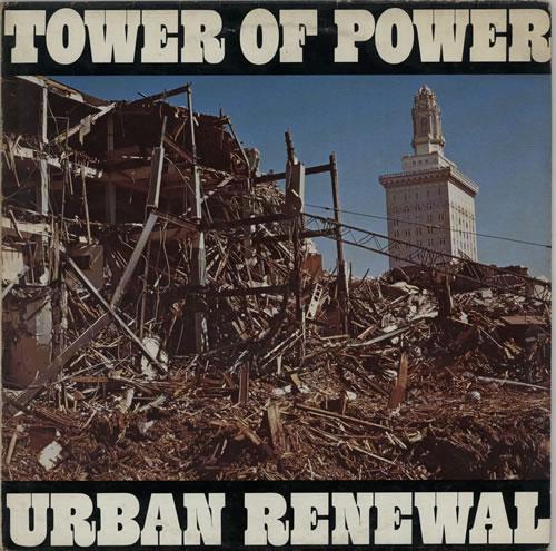 Tower Of Power Urban Renewal vinyl LP album (LP record) UK TO8LPUR608036