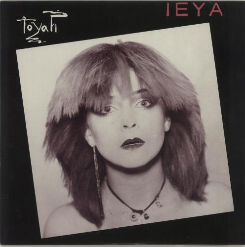 """Toyah Ieya 7"""" vinyl single (7 inch record) UK TYH07IE615486"""