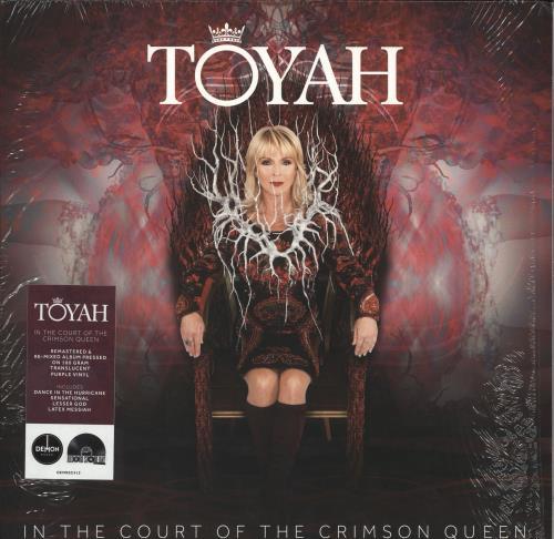 Toyah In The Court Of The Crimson Queen - RSD19 - 180gm Purple Vinyl vinyl LP album (LP record) UK TYHLPIN727751