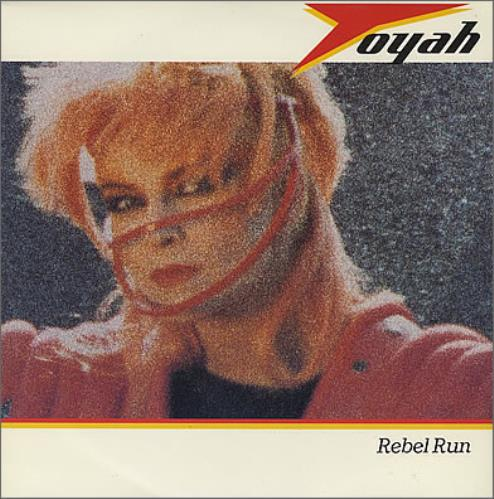 "Toyah Rebel Run 7"" vinyl single (7 inch record) UK TYH07RE31716"