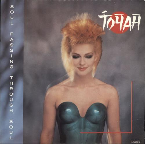 "Toyah Soul Passing Through Soul 7"" vinyl single (7 inch record) UK TYH07SO295025"