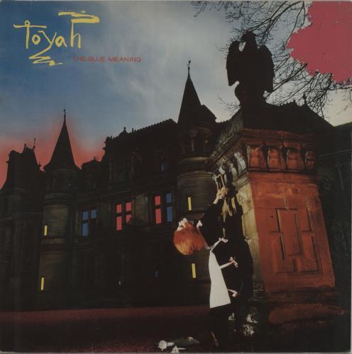 Toyah The Blue Meaning vinyl LP album (LP record) UK TYHLPTH229861
