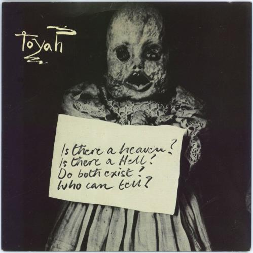 """Toyah Victims Of The Riddle - blue label 7"""" vinyl single (7 inch record) UK TYH07VI773082"""