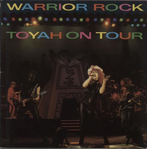 Toyah Warrior Rock - Toyah On Tour 2-LP vinyl record set (Double Album) UK TYH2LWA231848