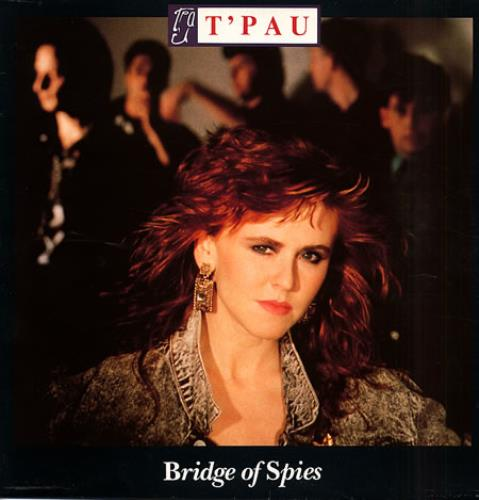 T'Pau Bridge Of Spies vinyl LP album (LP record) UK TPALPBR106121