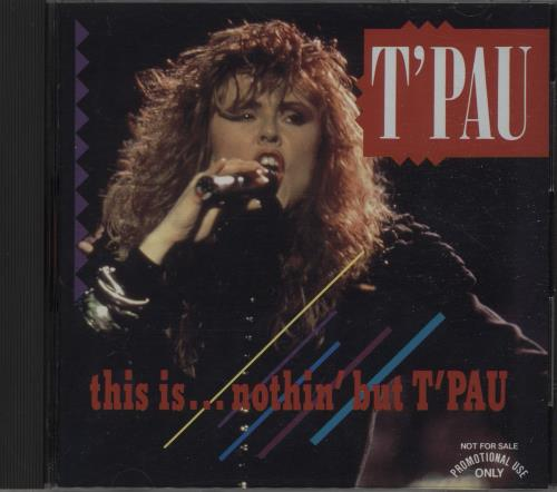 T'Pau This Is... Nothin' But T'pau CD album (CDLP) Japanese TPACDTH140089