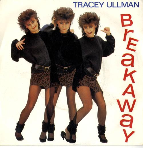 "Tracey Ullman Breakaway + p/s 7"" vinyl single (7 inch record) UK ULL07BR563016"