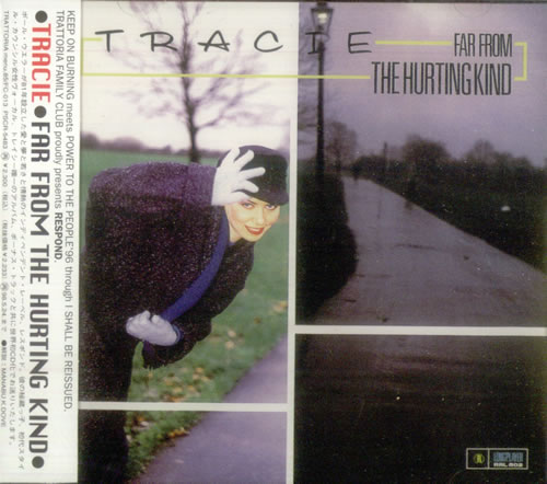 Tracie Far From The Hurting Kind +5 CD album (CDLP) Japanese TACCDFA63894