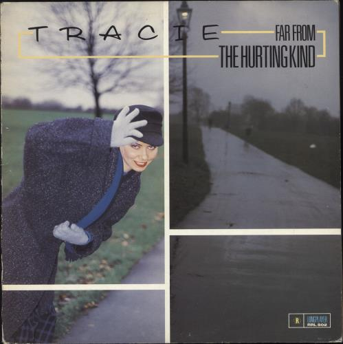 Tracie Far From The Hurting Kind - Promo Stamped vinyl LP album (LP record) UK TACLPFA316827