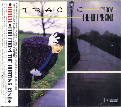 Tracie Far From The Hurting Kind CD album (CDLP) Japanese TACCDFA584933