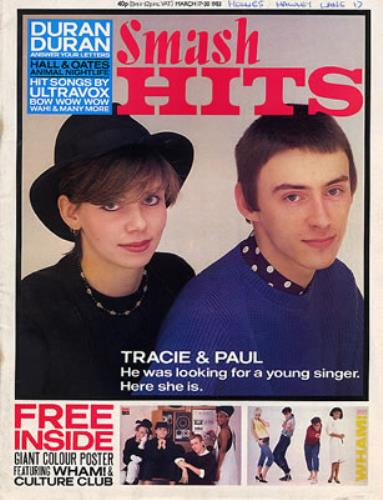 Tracie Smash Hits - March & July 1983 magazine UK TACMASM343485