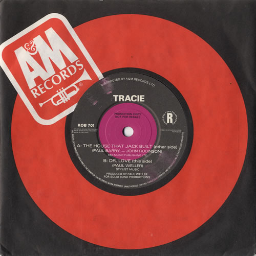 "Tracie The House That Jack Built 7"" vinyl single (7 inch record) UK TAC07TH105862"